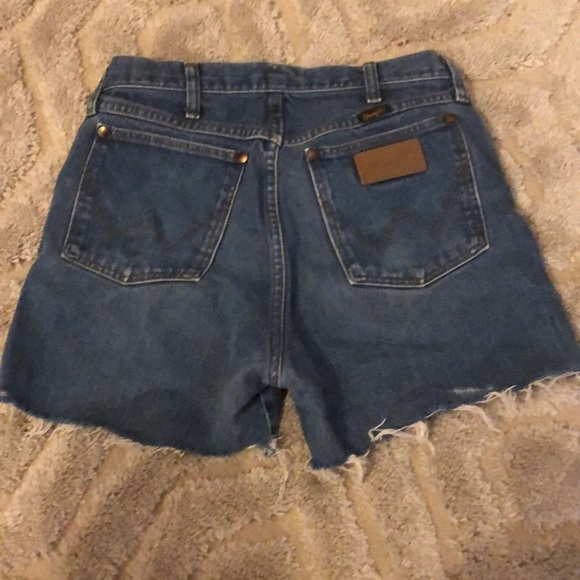Wrangler Pants - Wrangler Cut Off Shorts